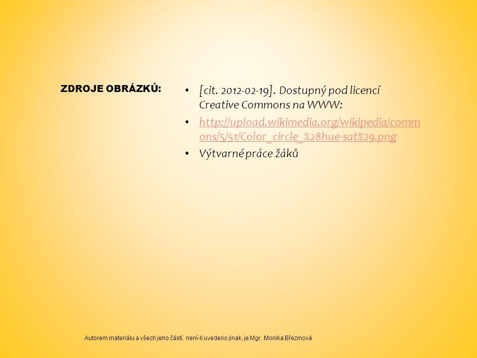 [cit. 2012-02-19]. Dostupný pod licencí Creative Commons na WWW: